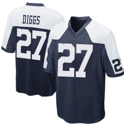Nike Trevon Diggs Dallas Cowboys Youth Game Navy Blue Throwback Jersey