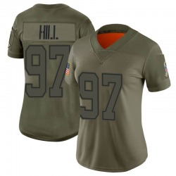 Nike Trysten Hill Dallas Cowboys Women's Limited Camo 2019 Salute to Service Jersey